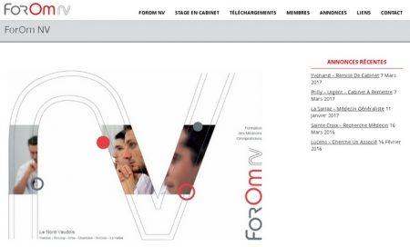 Nouveau site de ForOm NV