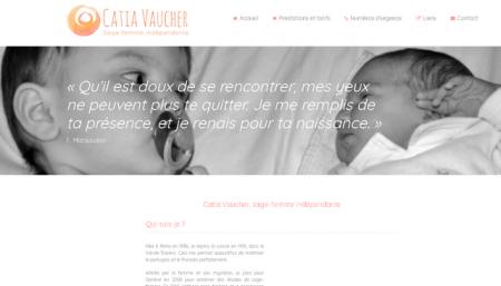Catia Vaucher site internet