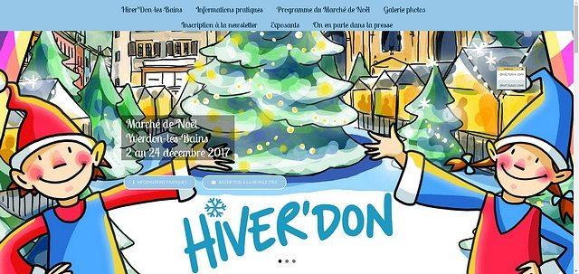 Marché de Noël d'Yverdon-les-Bains 2017